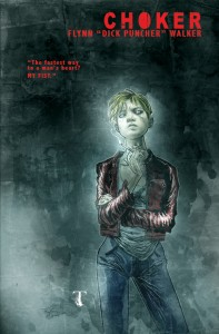 """Choker"" promotional image by Ben Templesmith."