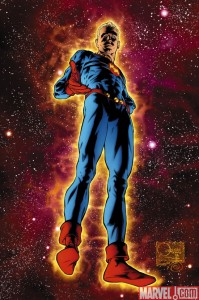 Marvel Man poster by Joe Quesada