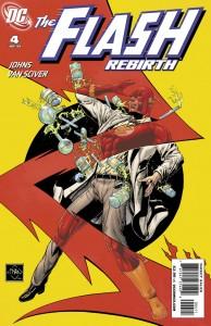 Flash Rebirth #4 cover