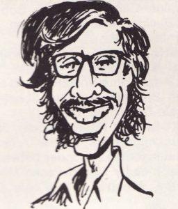 Paul Levitz caricature by Dave Manak