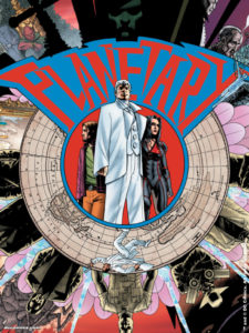 Planetary #27 cover by John Cassaday