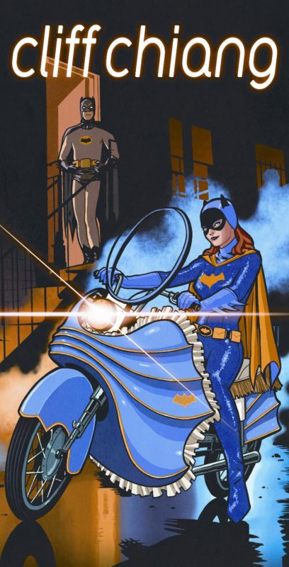 Chiang Batgirl flyer2