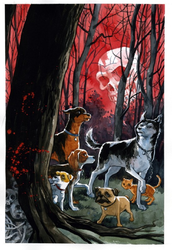 Beasts of Burden, winner Best Painter, Best Publication for Teens
