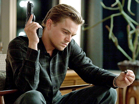 Leonardo Dicaprio in Inception, now playing in a prequel comic near you!