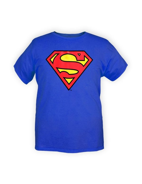 Clark Kent costume, Superman logo t-shirt