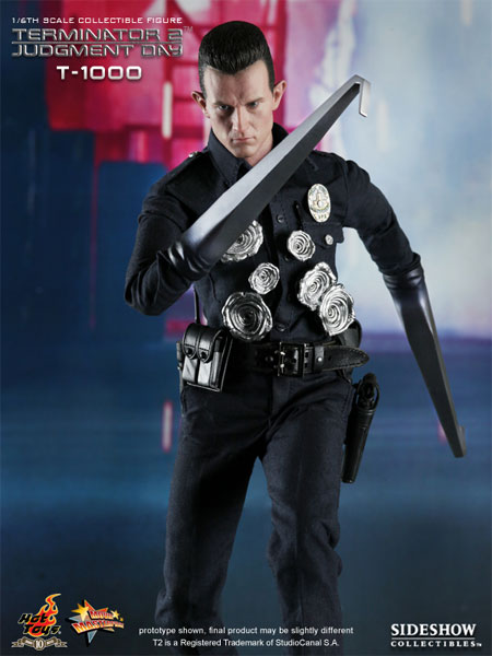 Robert Patrick as T-1000 1/6 Scale Figure from Hot Toys