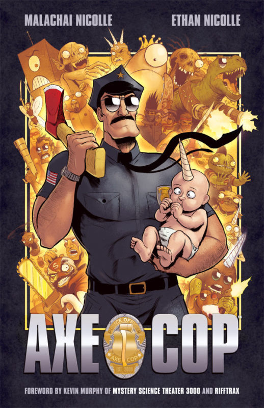 Axe Cop Trade Paperback from Dark Horse Comics