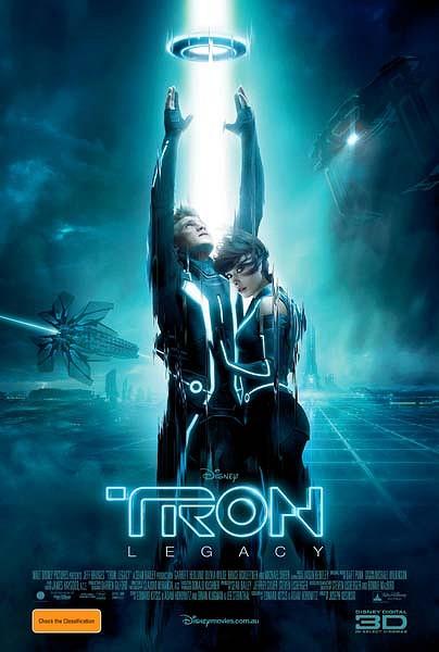 Sam, Quorra, TRON Legacy Poster