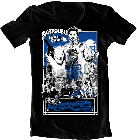 Jack Burton Big Trouble T-Shirt