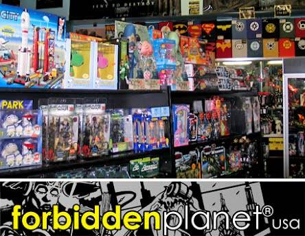 Forbidden Planet NYC Google Toys