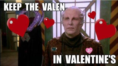 Minbari Happy Valen's day Valentine's Day