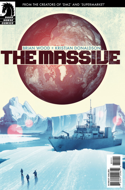 brian wood the massive #1 dark horse