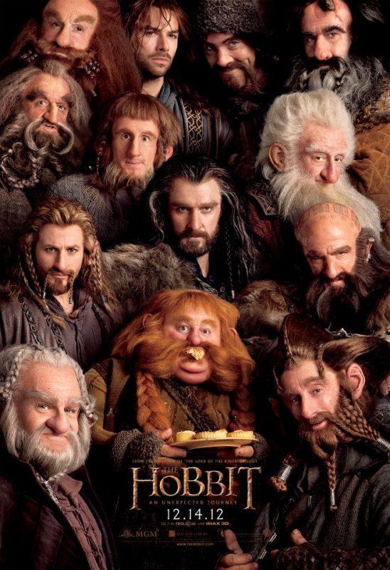 Dwarves Hobbit Bilbo Thorin Poster
