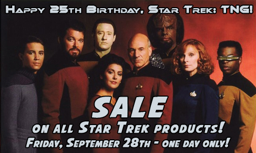 Star Trek: TNG birthday sale