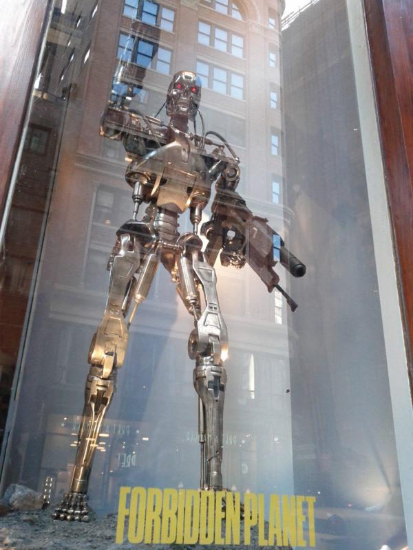 Life-size figure 1:1 scale Terminator T-800