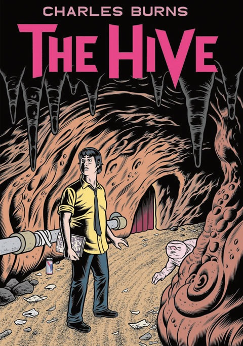Charles Burns Hive Black Hole El Borbah X'ed Out Xed