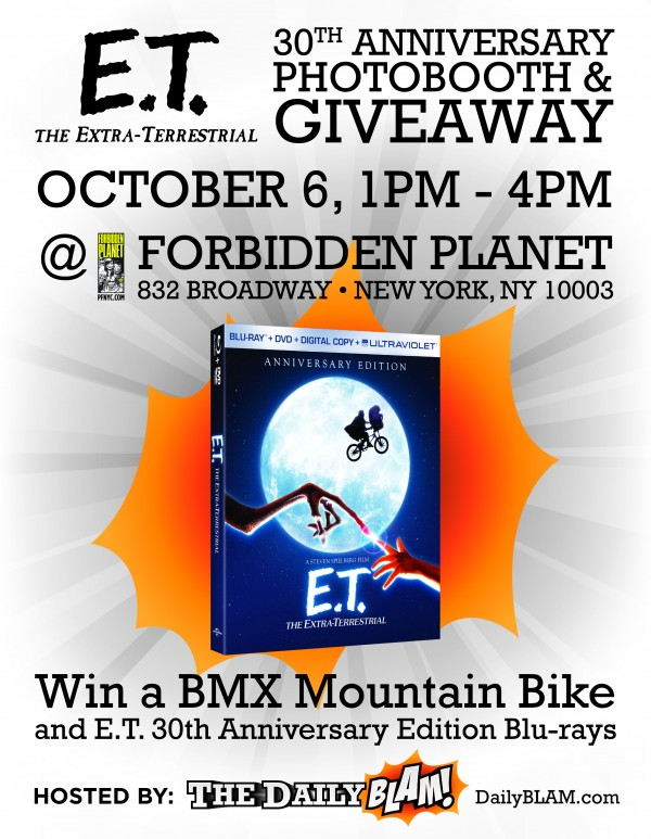 Win a BMX mountain bike and E.T. 30th anniversary Blu-rays!