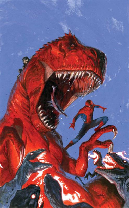 Avenging Spider-Man + Devil Dinosaur