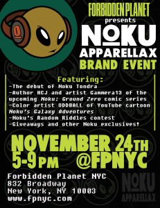 Noku Apparellax Brand Event - Nov 24th