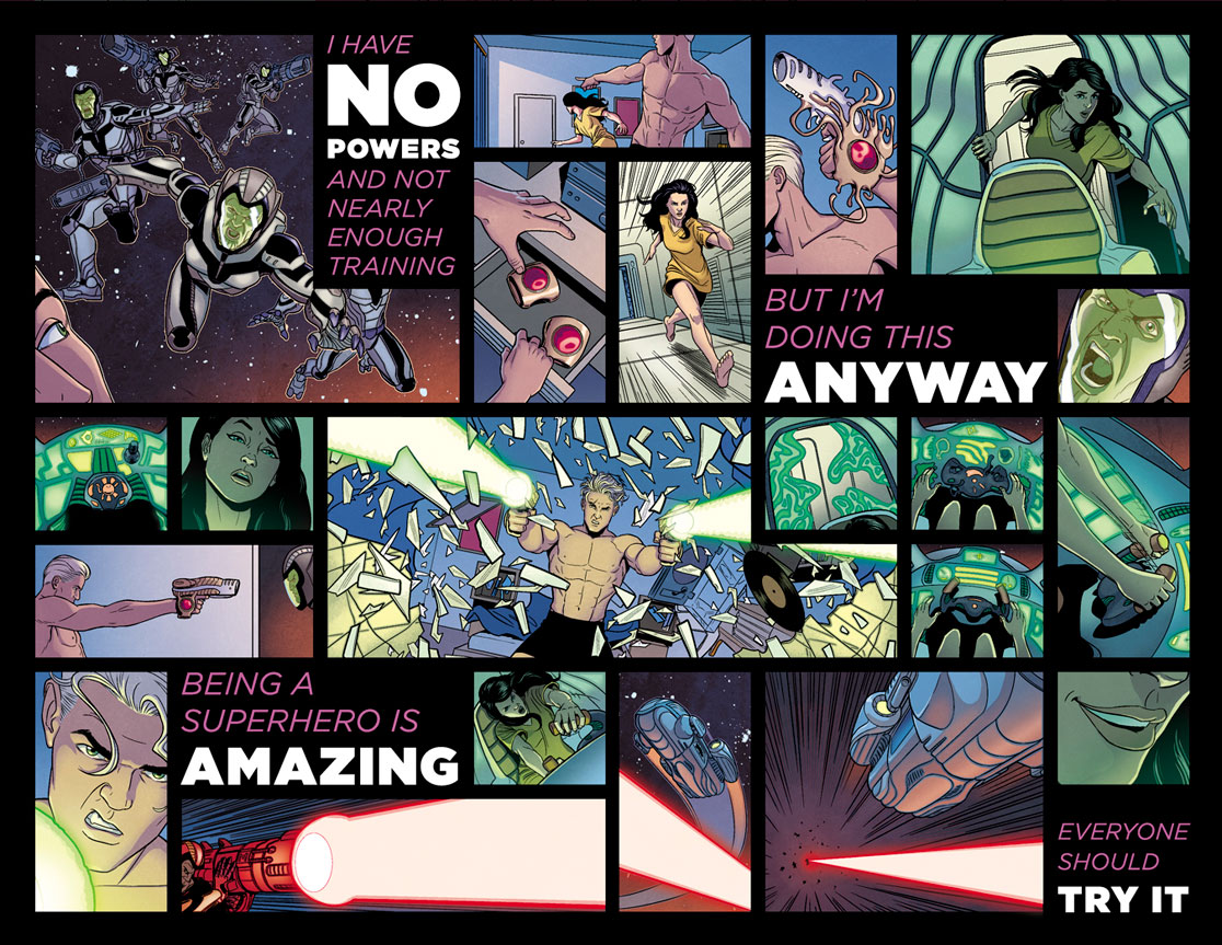 Square Vs Chris round 3, also a Young Avengers review - The