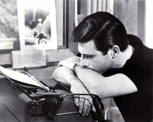 Harlan Ellison at work
