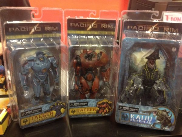 Pacific Rim Action Figures fpnyc Forbidden Planet