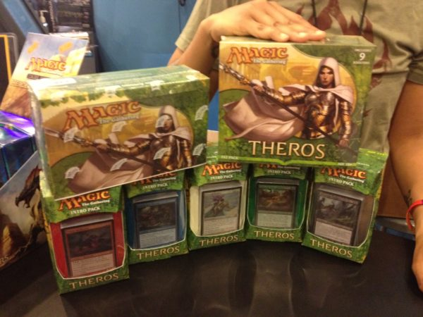 MTG Theros at Forbidden Planet NYC