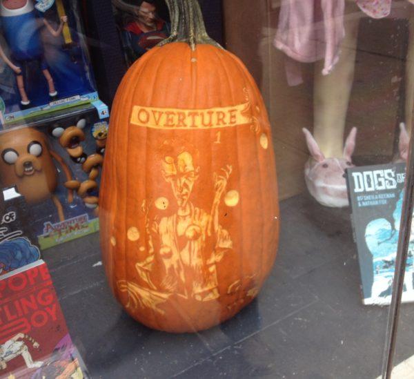 Sandman Overture #1 Pumpkin, Forbidden Planet