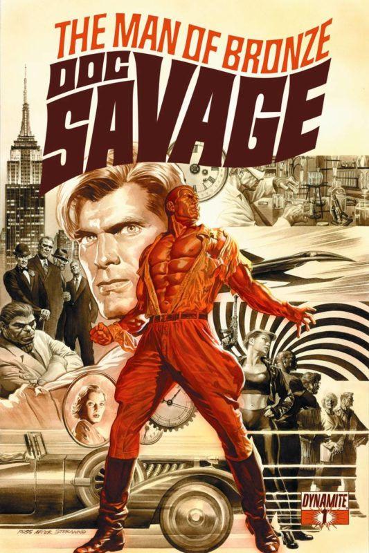 Dynamite Doc Savage comic book