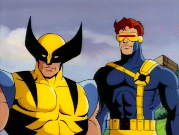 Wolverine Cyclops X-Men cartoon