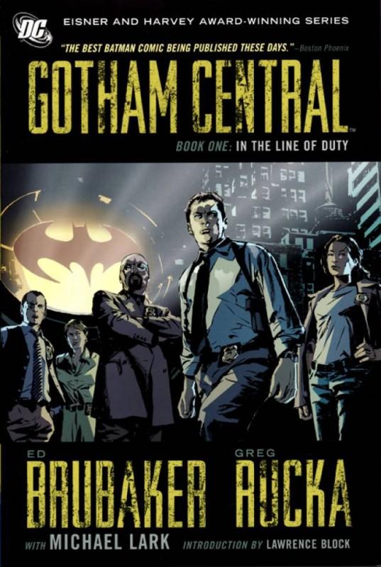 Ed Burbaker, Greg Rucka,Gotham Central