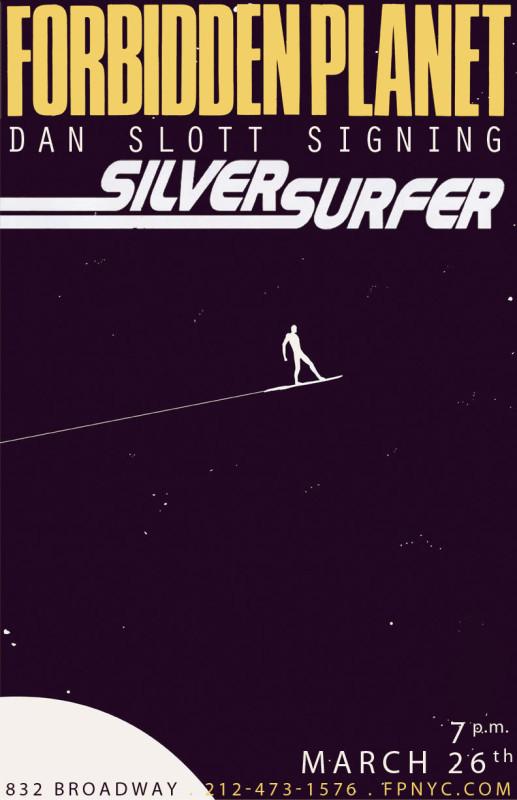 Silver Surfer #1 Dan Slott Signing Forbidden Planet NYC