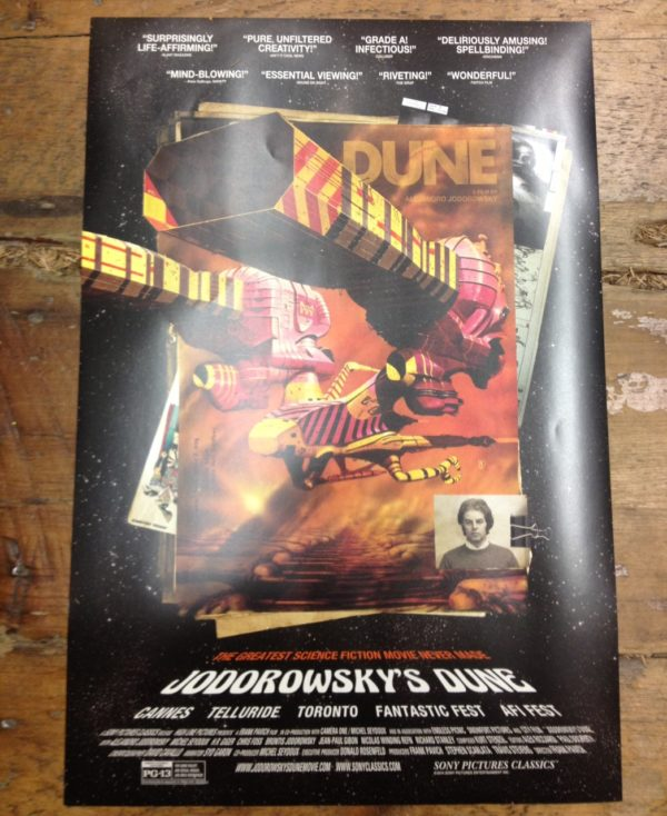 Jodorowsky's Dune, poster,Forbidd