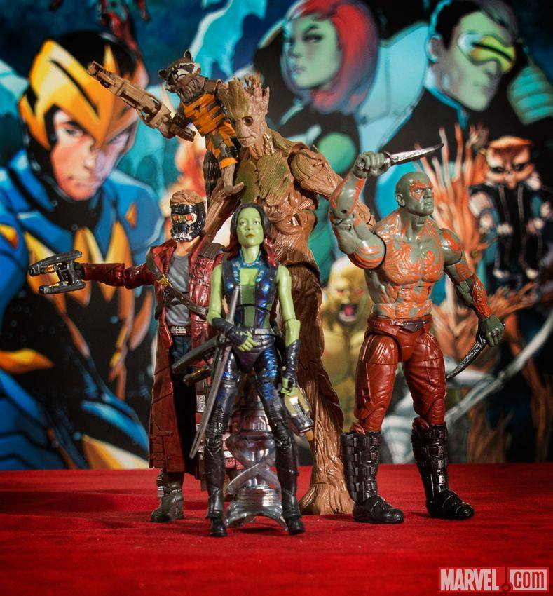 Guardians of the Galaxy Toy, Rocket Raccoon, Drax, Starlord