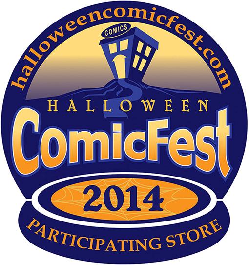 Halloween FREE comics Halloween Comicfest