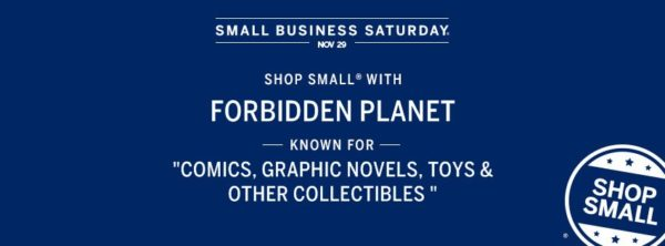 Forbidden-Planet-NYC-SmallBizSaturday