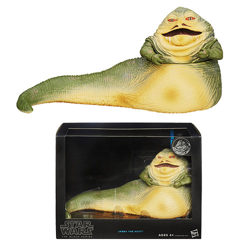 Jabba the Hutt Star Wars Black Hasbro