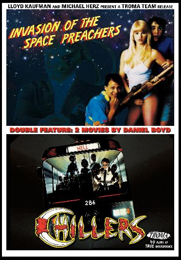 Invasion Space Preachers Chillers Troma 790357984909