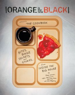 Orange is the New Block, cookbook, cook book