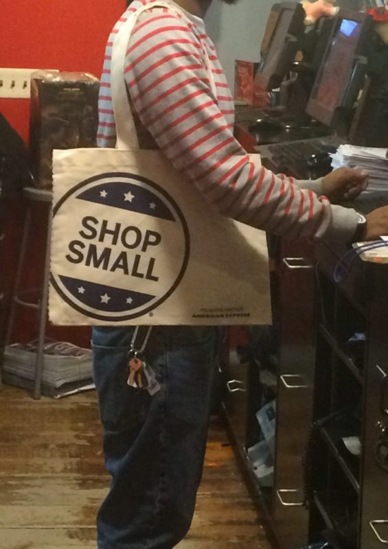 Small business saturday forbidden planet nyc american express