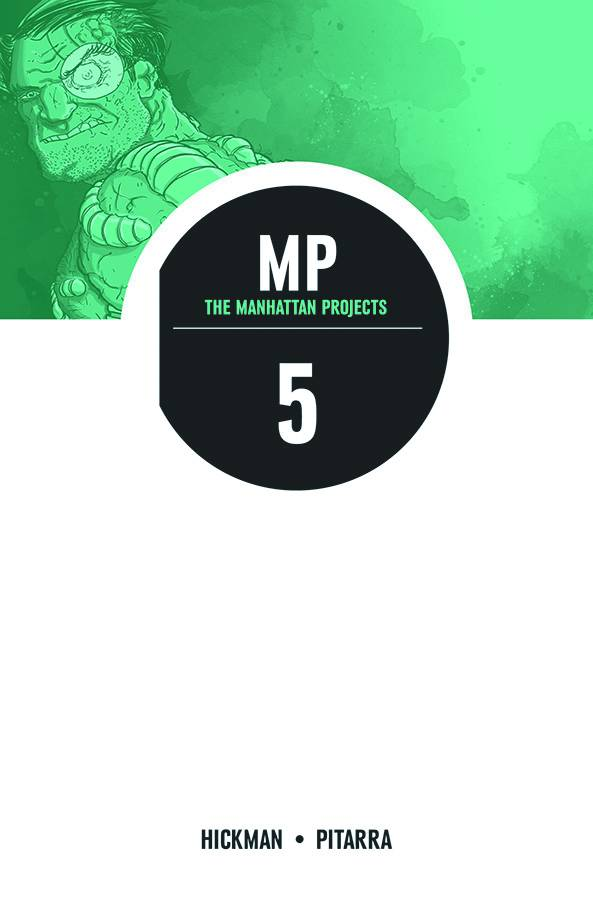 Manhattan Projects Jonathan Hickman trade paperback 5