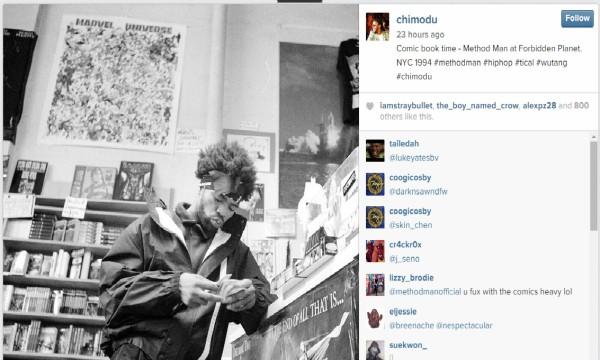 Method Man at Forbidden Planet NYC 1994