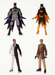 San Diego Comic-Con 2014 First Look DC Comics Greg Capullo Batman Designer Series Wave 3 Action Figures - Zero Year Batman, Batgirl, Two-Face and Commissioner James Gordon