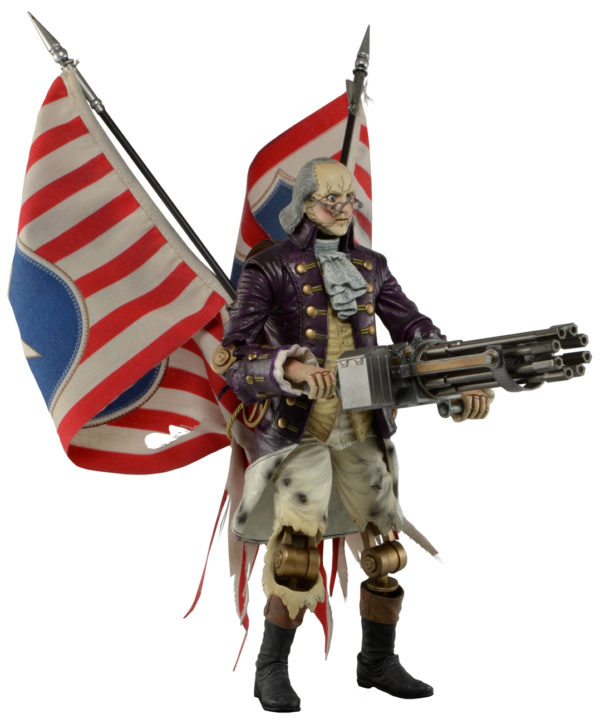 Bioshock Infinite Motorized Patriot Ben Franklin