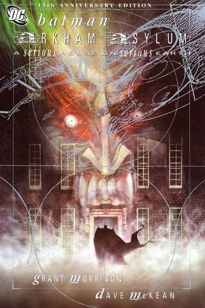 Batman Arkham Asylum Grant Morrison Dave McKean video game of the year graphic novels