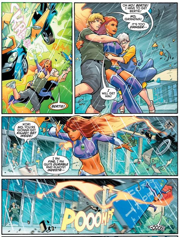 Chris' Comics: Starfire #2 - The Daily Planet Katakirauwa