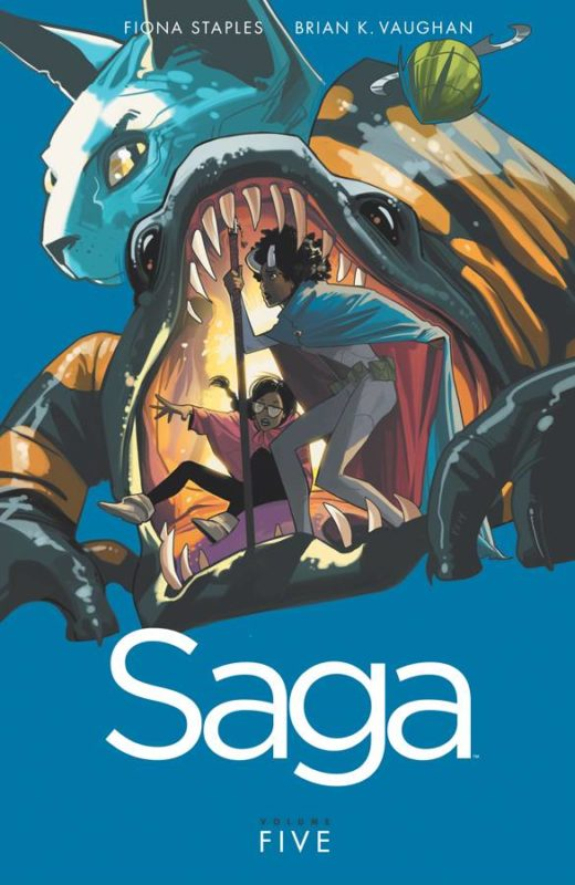 9781632154385 Saga Image Comics graphic novel 5