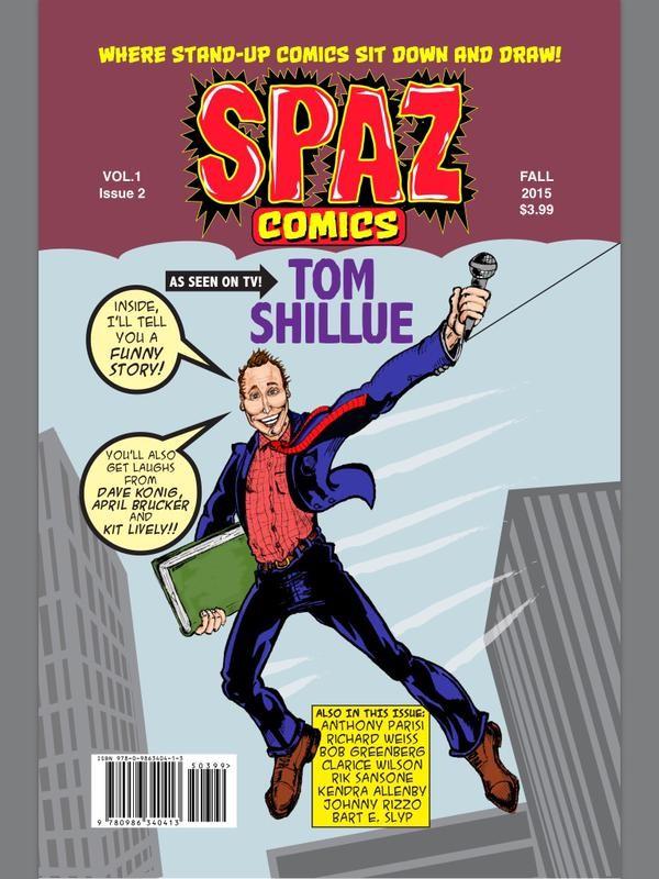 Spaz Comics signing Forbidden Planet Rik Sansone