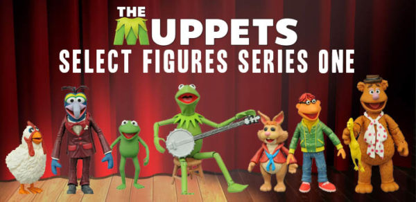 New Muppets toys action figures from Diamond Select