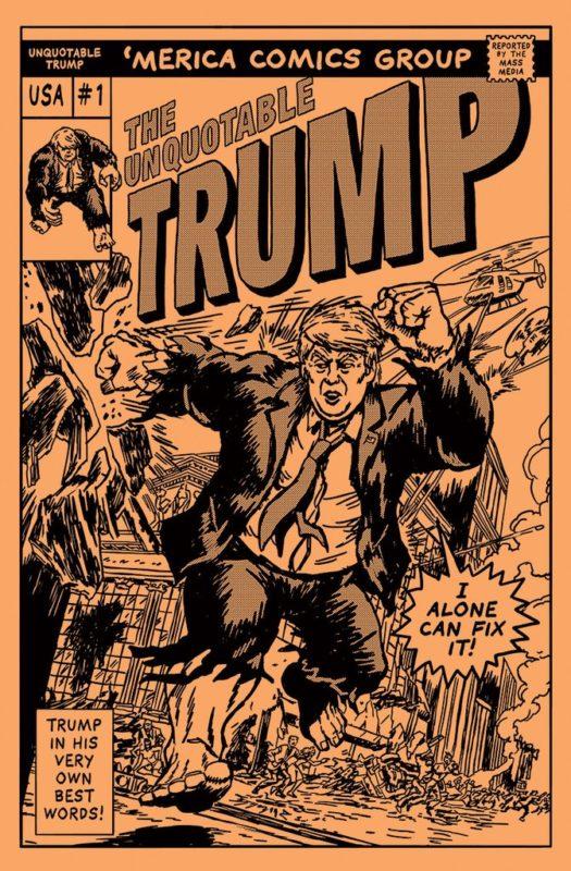 Donald Trump quotes comic book